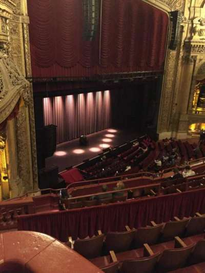 Chicago Theatre section Balcony Box 3