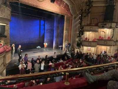 Cort Theatre, section: Mezzanine L, row: B, seat: 21