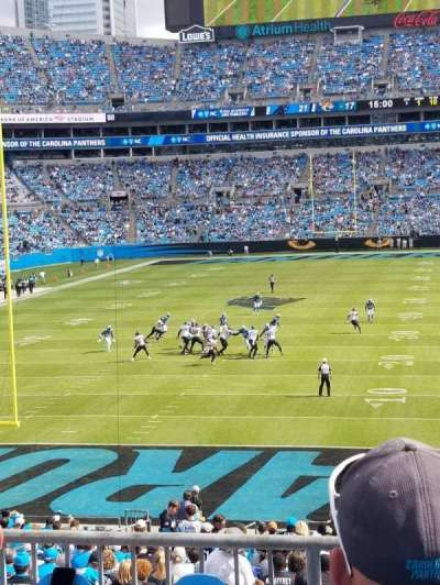 Bank of America Stadium section 256