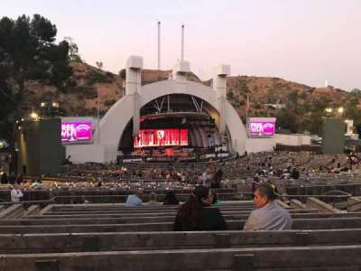 Hollywood Bowl section K1