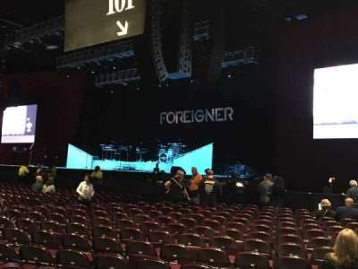 Hard Rock Live at Etess Arena, section: 101, row: 17