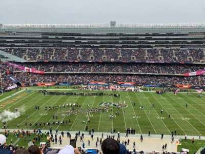Soldier Field, section: 437, row: 4, seat: 9