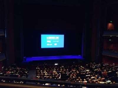 Sarofim Hall, section: Mezzanine Center, row: A, seat: 102