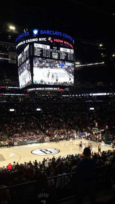 Barclays Center section 125