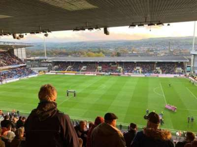 Turf Moor, section: Jimmy Hargreaves Upper, row: Y, seat: 59