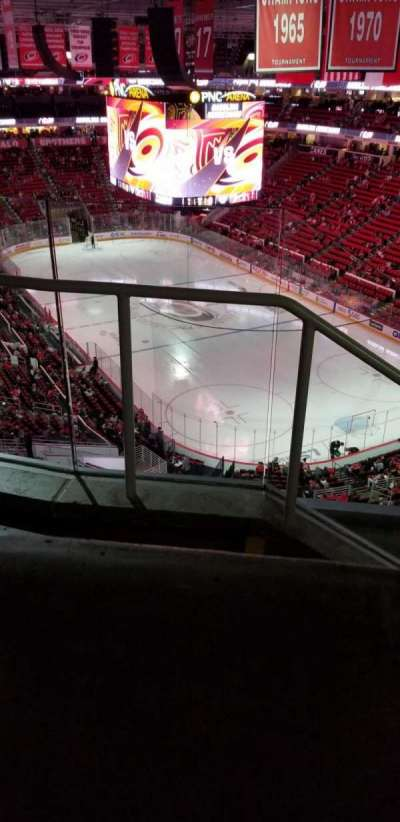 PNC Arena, section: 335, row: d, seat: 14