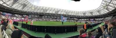 London Stadium section 133