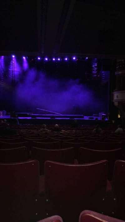 Birmingham Hippodrome section Rear Stalls