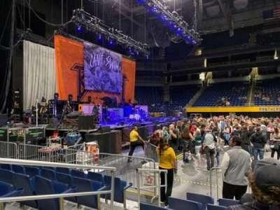 Petersen Events Center section 6E