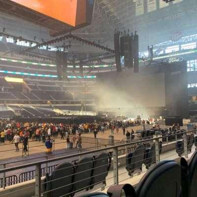AT&T Stadium, section: C112, row: 5, seat: 10
