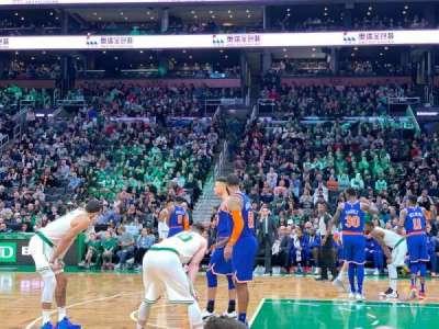 TD Garden, section: VIP 11, row: C, seat: 13