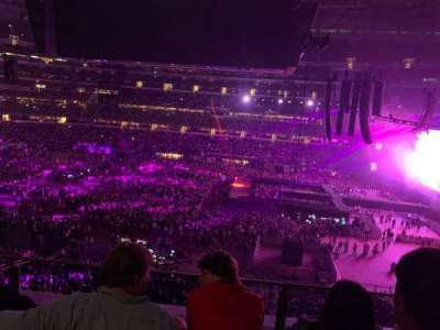 AT&T Stadium, section: C309, row: 3, seat: 8