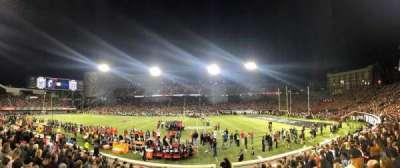 Nippert Stadium, section: 120, row: 16, seat: 3