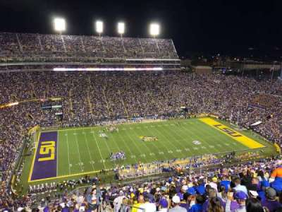 Tiger Stadium, section: 639, row: W, seat: 3