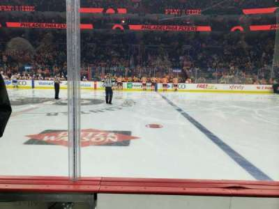 Wells Fargo Center, section: 114, row: 2, seat: 1