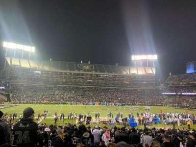 Oakland Coliseum section 119