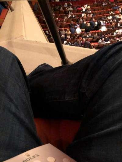 Uihlein Hall, section: SLOGE, row: R, seat: 5