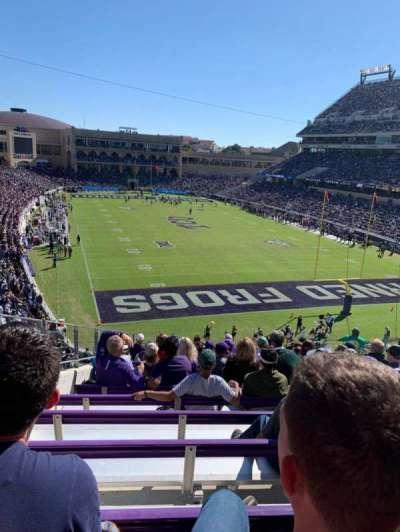 Amon G. Carter Stadium, section: 224, row: N, seat: 11