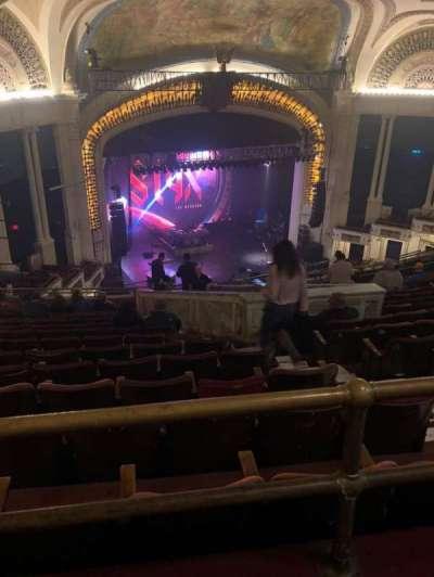 Orpheum Theatre (Boston), section: Balcony L, row: S, seat: 5