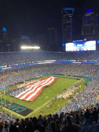 Bank of America Stadium section 549