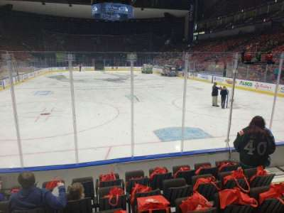 VyStar Veterans Memorial Arena, section: 108, row: F