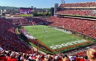 Sanford Stadium, section: 323, row: 14, seat: 9