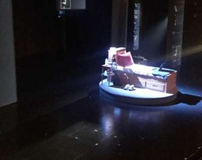 Music Box Theatre, section: Box, seat: 3