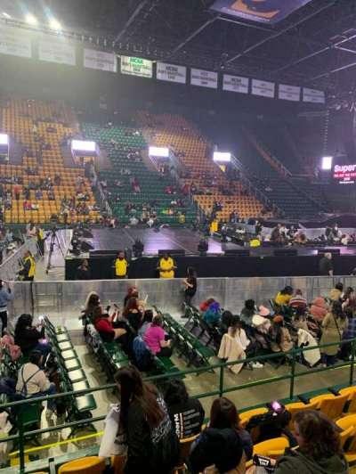 EagleBank Arena, section: 102, row: EE, seat: 14