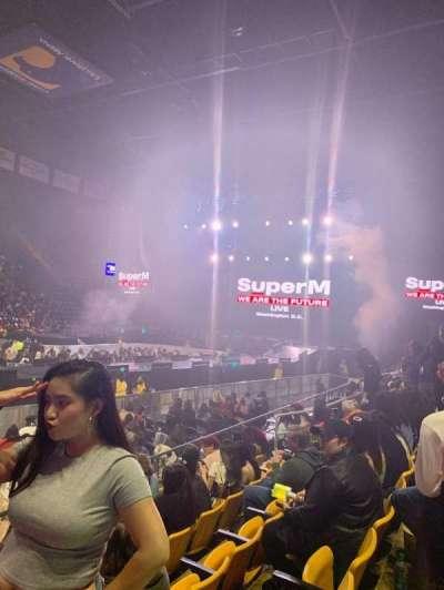 EagleBank Arena, section: 102, row: EE, seat: 15