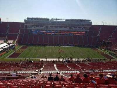 Los Angeles Memorial Coliseum, section: 322, row: 22, seat: 31