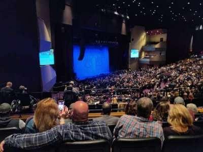 Ovation Hall, section: 207, row: E, seat: 10