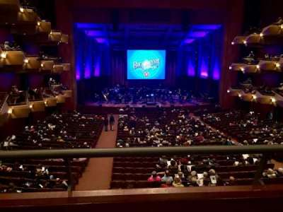Benaroya Hall, section: Founders Tier, row: A, seat: 9