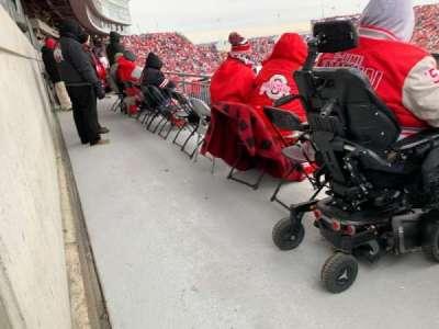 Ohio Stadium section 29D