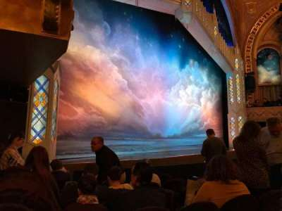 Eugene O'Neill Theatre, section: Orchestra L, row: G, seat: 19