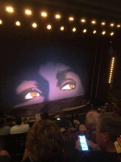 Lunt-Fontanne Theatre, section: Front Mezzanine L, row: E, seat: 7