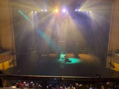 Folly Theater, section: Balcony Center, row: A, seat: 8
