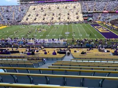 Tiger Stadium, section: 101, row: 52, seat: 15