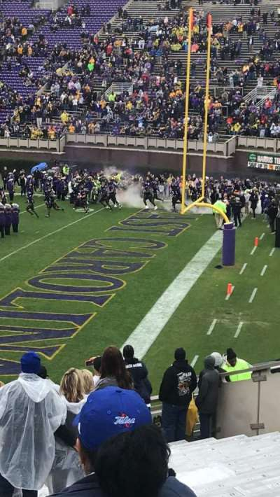 Dowdy-Ficklen Stadium, section: 13, row: X, seat: 9
