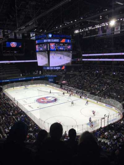 Barclays Center, section: 219, row: 4, seat: 9