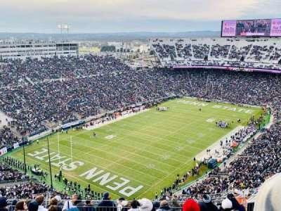 Beaver Stadium, section: SBU, row: 69, seat: 22