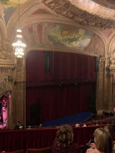 Chicago Theatre, section: Balcony1L, row: J, seat: 111