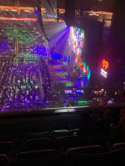 Dickies Arena, section: 205, row: 5, seat: 10