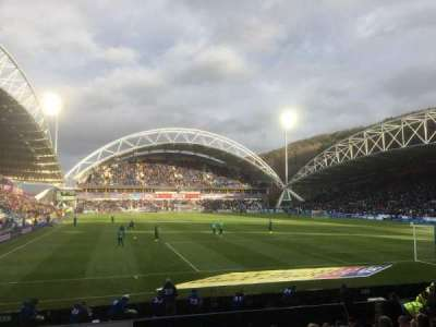 John Smith's Stadium, section: A05, row: M, seat: 126
