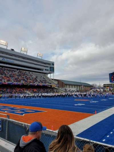 Albertsons Stadium, section: 31, row: D, seat: 6