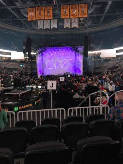 TD Garden, section: Loge 6, row: 5, seat: 6