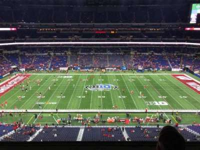 Lucas Oil Stadium, section: 540, row: 2, seat: 13