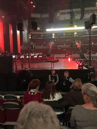 Value City Arena, section: 107, row: H, seat: 12