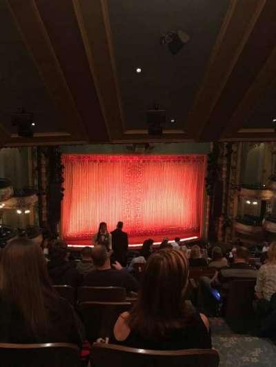 New Amsterdam Theatre section Mezzanine L