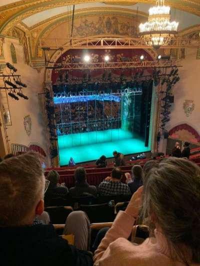 John Golden Theatre, section: Rear Mezzanine LC, row: E, seat: 123