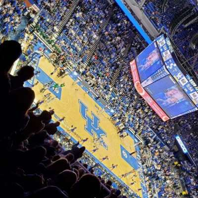 Rupp Arena, section: 217, row: R, seat: 11